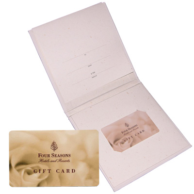 FOUR SEASONS<sup>&reg;</sup> $250 Gift Card - Relax in luxury at any Four Seasons hotel or resort in extraordinary destinations around the world with this $250 gift card. Can be used for accommodations, and much more, including spa services, dining or golf, tennis and other leisure activities at any facility managed by Four Seasons.