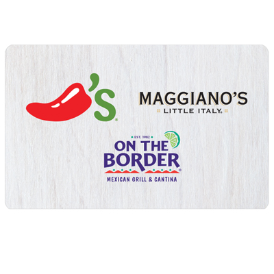 ON THE BORDER<sup>&reg;</sup> $25 Gift Card - Try fresh Mexican favorites and specialties.